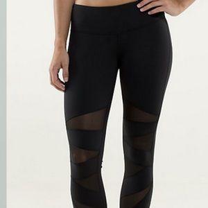 Tech mesh tights Lululemon women's legging.